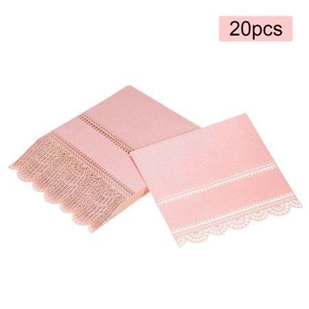 20pcs Name Card Wedding Celebration Birthday Party Table Card Seats Decoration--Pink - Celebration Fl Halloween Party