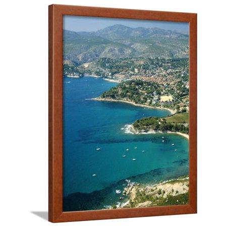 Cassis, Bouches Du Rhone, Cotes Des Calanques, Mediterranean Coast, Provence, France Framed Print Wall Art By David Hughes
