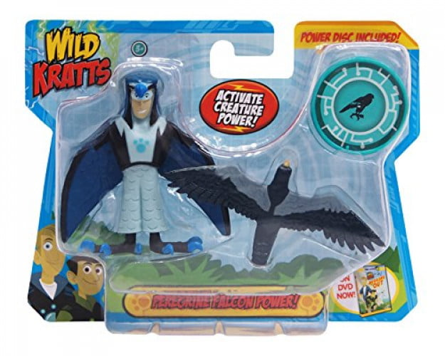 Wild Kratts Toys Creature Power Action Figure Set Peregrine Falcon Power by Wicked Cool Toys (Domestic)