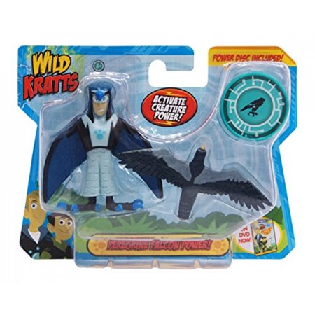 Wild Kratts Toys -  Creature Power Action Figure Set - Peregrine Falcon Power