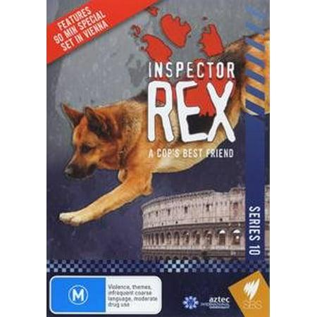 Inspector Rex: A Cop's Best Friend (Series 10) - 3-DVD Set ( Kommissar Rex ) ( Inspector Rex - Series Ten ) [ NON-USA FORMAT, PAL, Reg.0 Import - Australia (Best Budget Tv Australia)