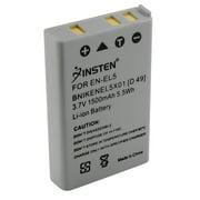 Insten 2-Pack EN-EL5 Replacement Battery for Nikon CoolPix P90 P100 P500 P510 P520 P530 P6000 P3 P4 Digital SLR Camera