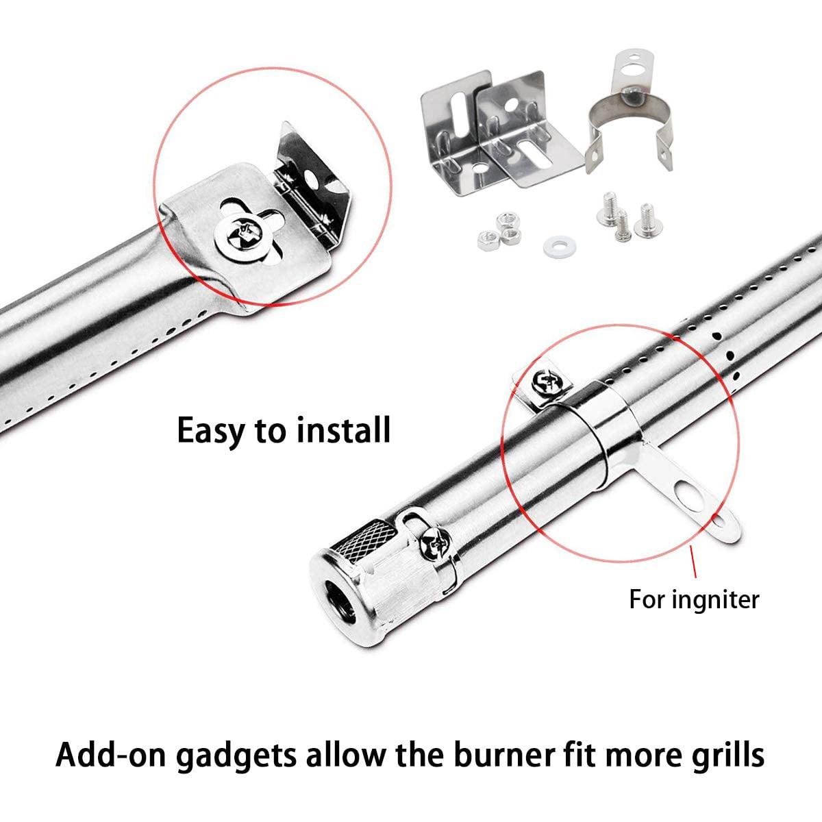 12 to 17-1//2 Jackson /& Home Depot Gas Models Adjustable Tube Burner 42204 for Master Forge Brinkmann GrillPro