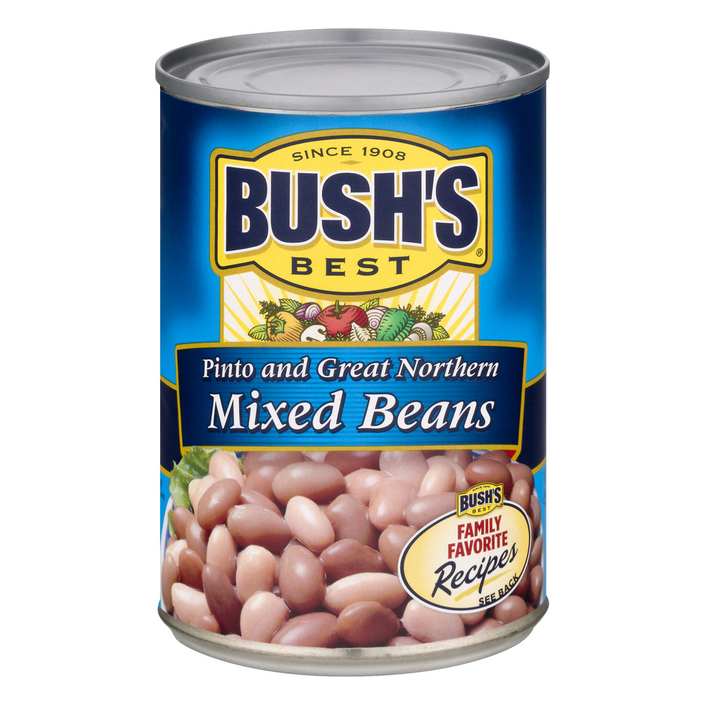 Bush's Mixed Beans Pinto and Great Northern, 16.0 OZ