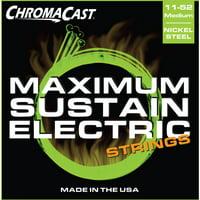 ChromaCast Maximum Sustain Medium Gauge(.011-.052) Electric Guitar Strings