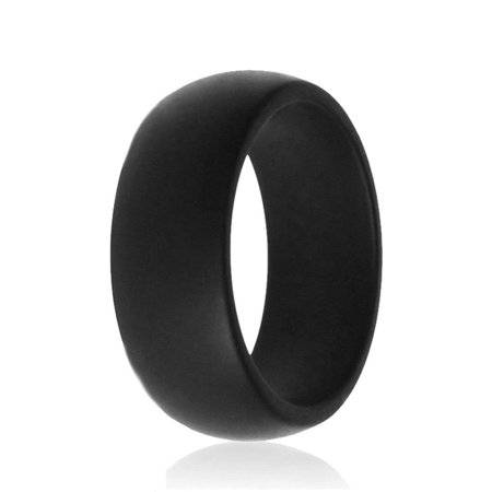- Silicone Wedding Ring Men Women Rubber Flexible Band Gym Sport Outdoor Gifts
