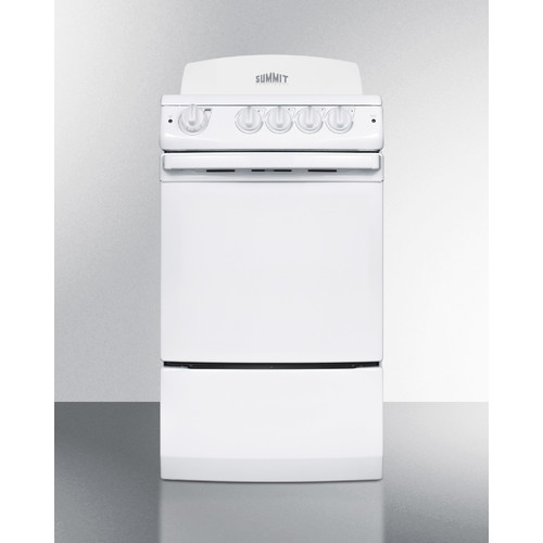 white electric range. Summit Appliance 20\u0027\u0027 Free-standing Electric Range In White White Electric Range