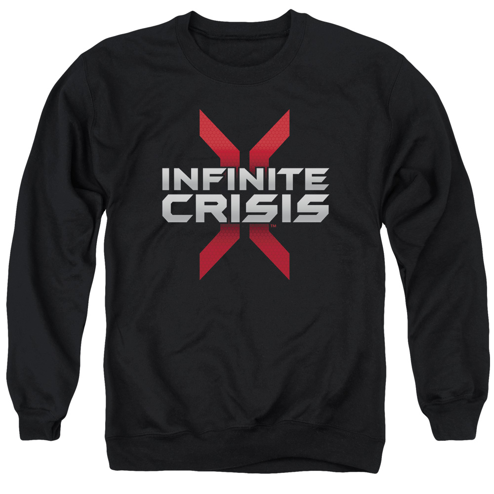 Infinite Crisis Logo Mens Crew Neck Sweatshirt
