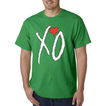 189 - Unisex T-Shirt Xo The Weeknd Heart [White (Unisex Heart)