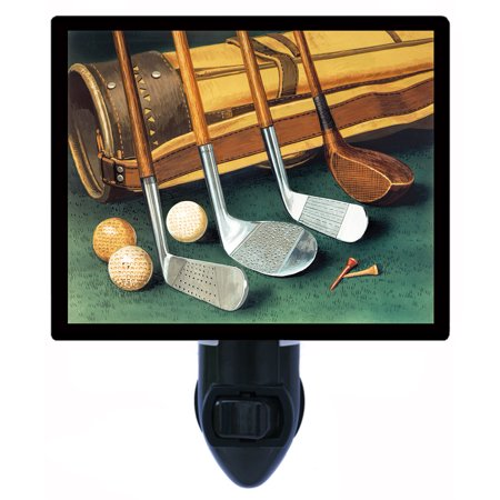 Night Light - Photo Light - Club Line Up - Golfing - Golf Clubs - - Night Golf