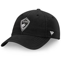 Colorado Rapids Fanatics Branded Tonal Fundamental Snapback Adjustable Hat - Black - OSFA