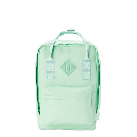 No Boundaries Juniors' Mint Tribal Mini Square Backpack