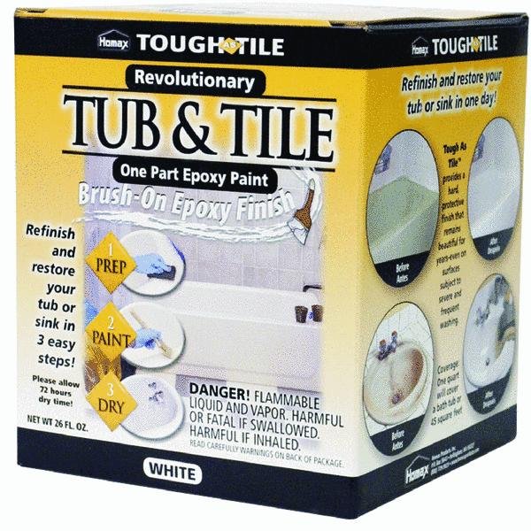 Homax Tough As Tile Tub, Sink & Tile Epoxy Paint