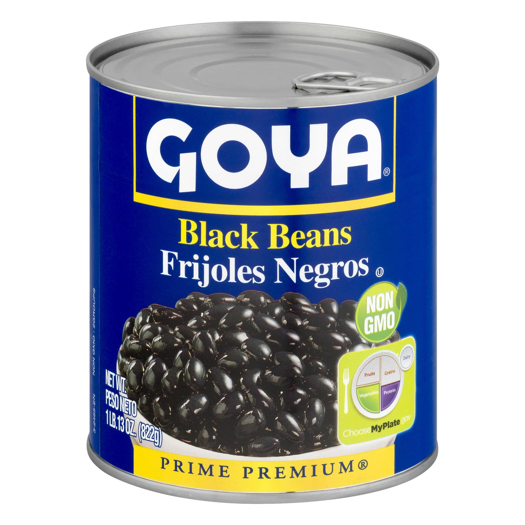 (6 Pack) Goya Black Beans, 29.0 Oz