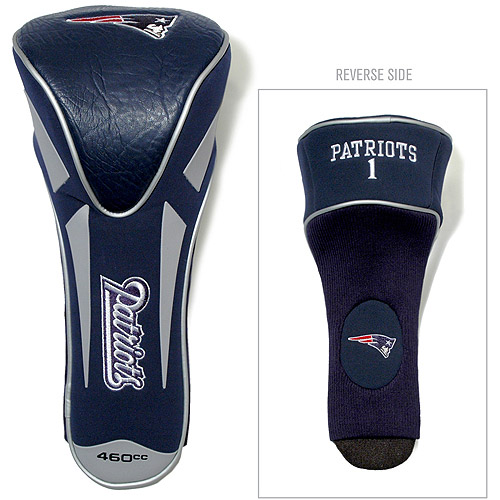 Team Golf NFL New England Patriots Single Apex Driver Head Cover
