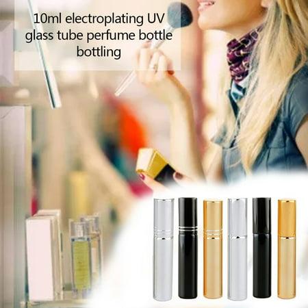 10ml UV Glass Perfume Bottle Travel Portable Cosmetics Spray Bottle Empty Bottle Spray Atomizer Points Bottling - image 4 de 6