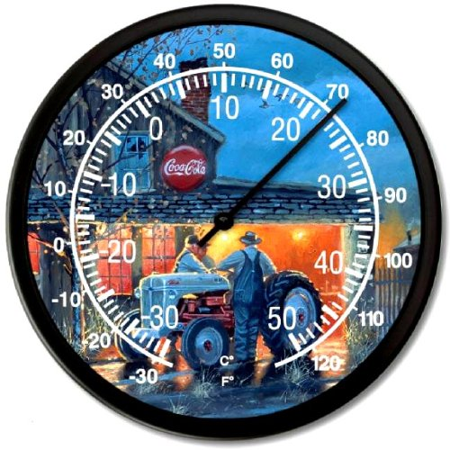 """New Farmall H Tractor Vintage Dave Barnhouse Common Ground Huge 14/"""" Wall Clock"""