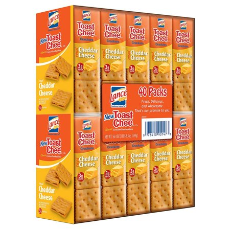 Lance Toast Chee Cheddar Sandwich Cracker (40 pk.)](Toasts D'halloween)