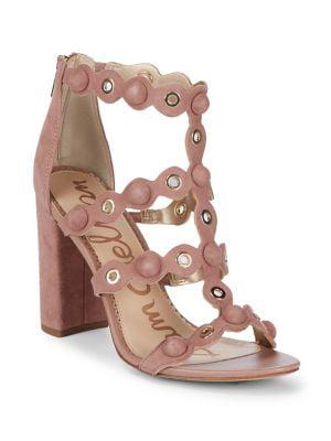 Yuri Suede Strappy Sandals
