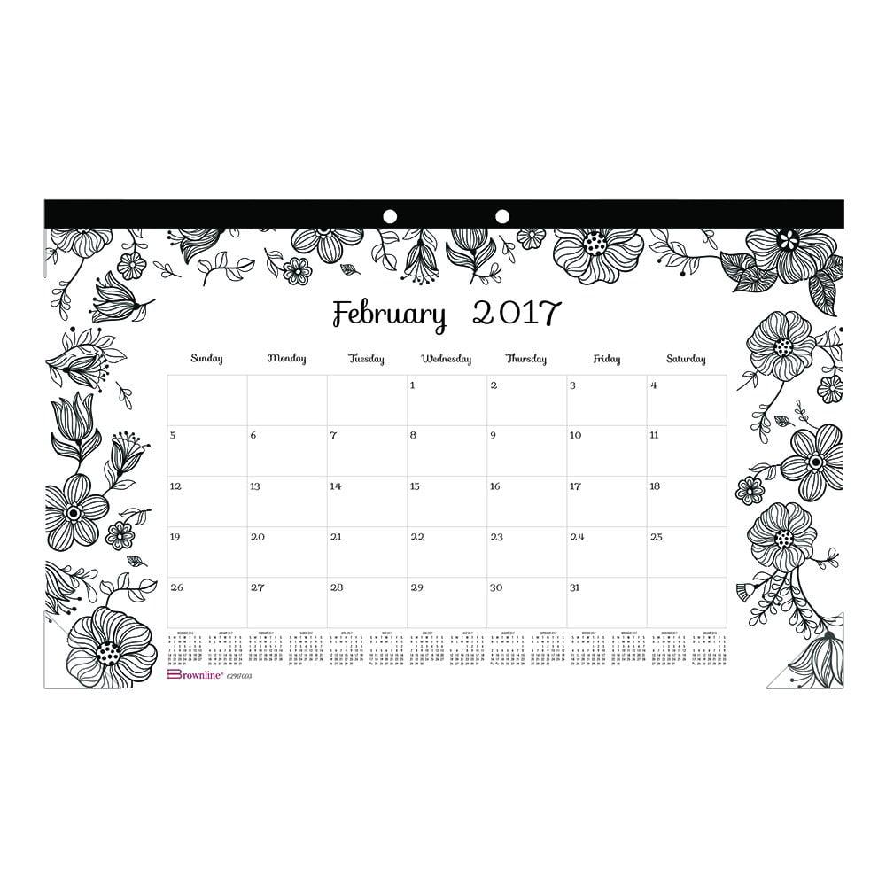month of january calendar
