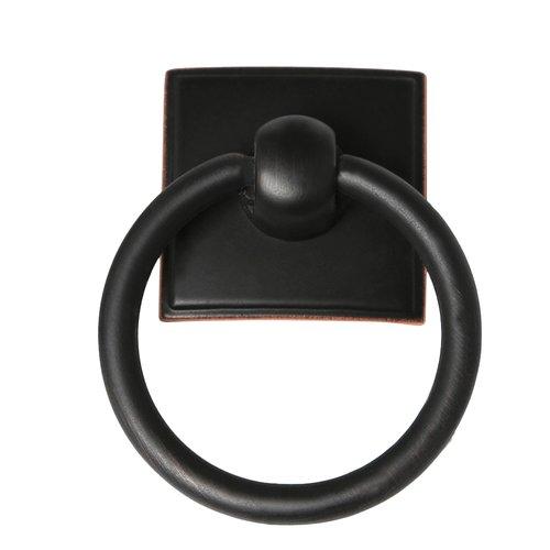 "Alno A580-VBRZ Eclectic Modern Pulls, 2-3/8"", Bronze"
