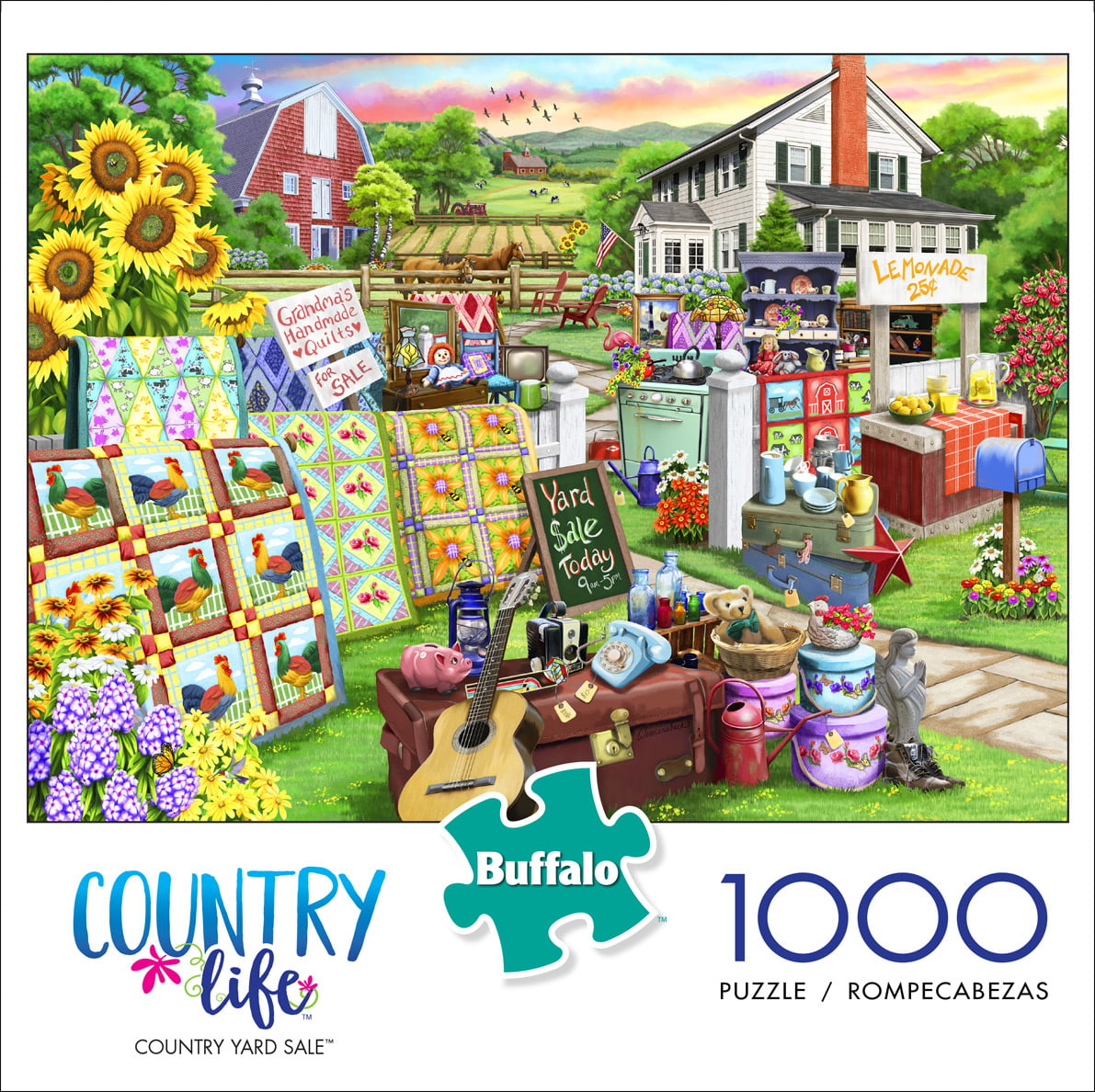 Buffalo Games - Country Life - Country Yard Sale - 1000 ...