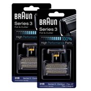 Braun 6000FC / 31B (2-Pack) Replacement Foil and Cutter 2-Pack