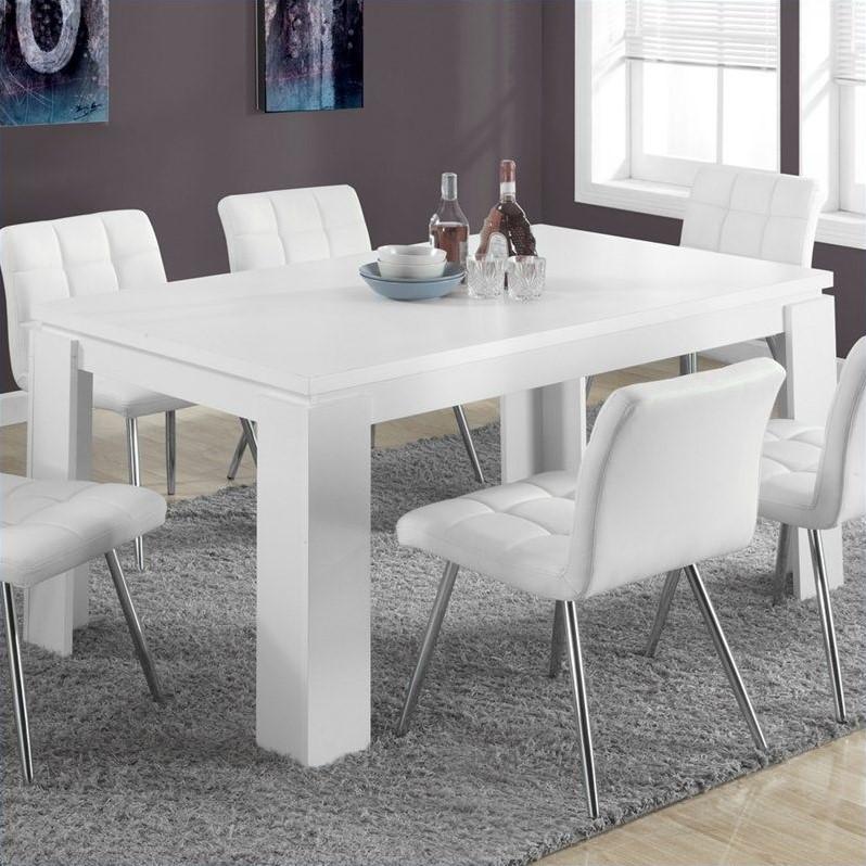 """Monarch Dining Table 36""""X 60"""" / Dark Taupe"""