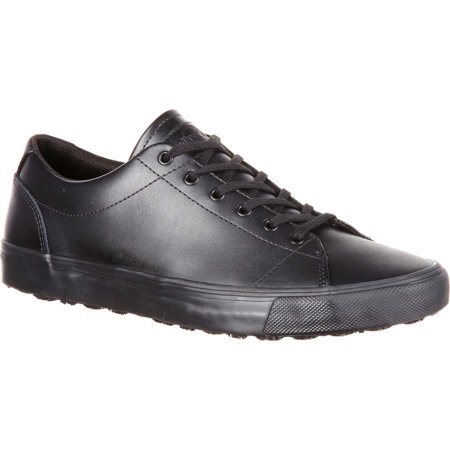 Black Black Skate Shoe (SlipGrips Slip-Resistant Skate Shoe)