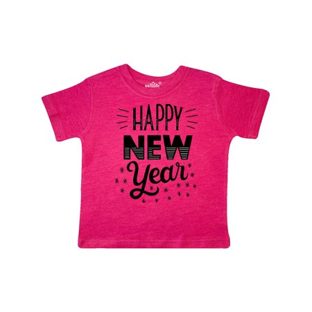 157344842 Inktastic - Happy New Year in Hand Lettering Toddler T-Shirt - Walmart.com