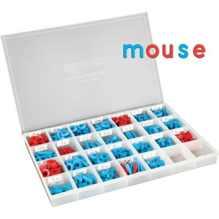 Plastic Magnetic Letters (EZread™ Color-Coded Plastic Magnetic Letter)