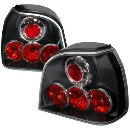 - Spec-D Tuning LT-GLF93JM-TM Altezza Tail Light for 93 to 98 Volkswagen Golf, Black - 12 x 16 x 18 in.