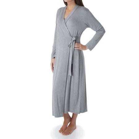 Women's Shadowline 61223 Long Wrap Robe
