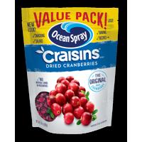 Ocean Spray Craisins Dried Cranberries, Original, Value Pack, 24 oz