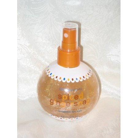 Bath & Body Works Spiced Gingersnap Shimmer Splash, 8 fl oz/236 mL by Bath & Body Works