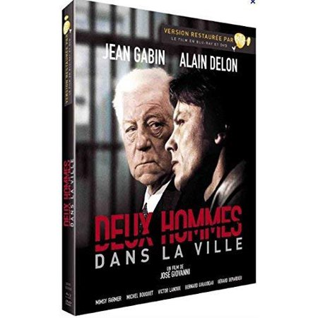 Two Men in Town (1973) ( Deux hommes dans la ville ) ( 2 Men in Town ) [ NON-USA FORMAT, PAL, Reg.2 Import - France - Halloween Town French