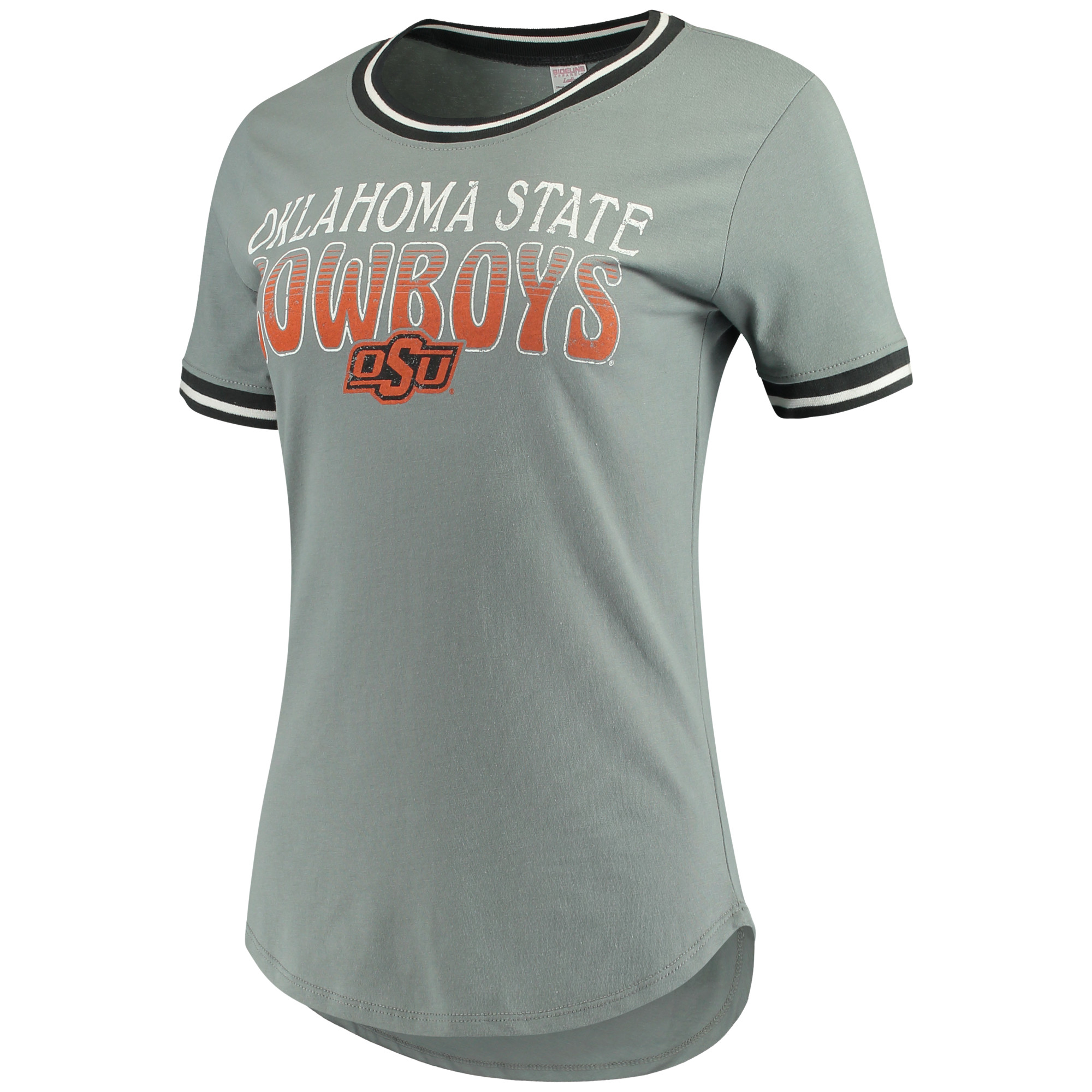 Women's Concepts Sport Charcoal Oklahoma State Cowboys Elect T-Shirt
