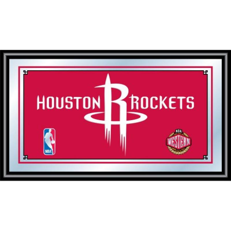 NBA Houston Rockets Framed Logo Mirror
