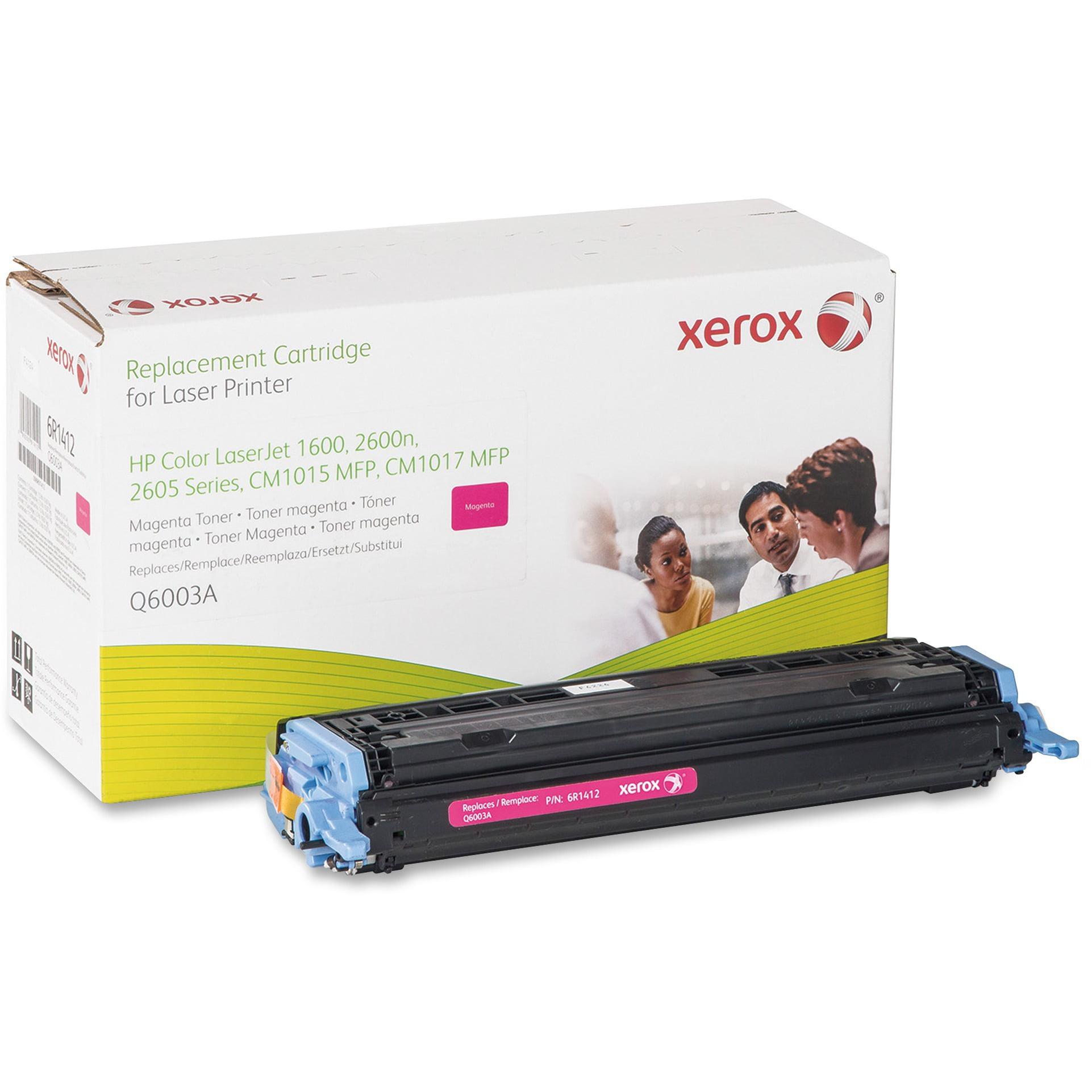 Xerox, XER6R1412, 6R1410/1/2/3 Remanufactured HP 124A Toner Cartridges, 1 Each