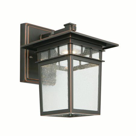 Design House 578401 Dayton LED Outdoor Wall Light, Oil Rubbed (Outdoor Oil)