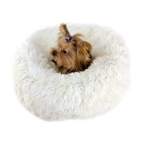 Luxury Fluffy Soft Pet Bed for Cats & Dogs, Assorted Colors & Sizes Dog Bed, Self-Warming