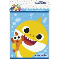 Baby Shark Loot Bags [8 per Package]