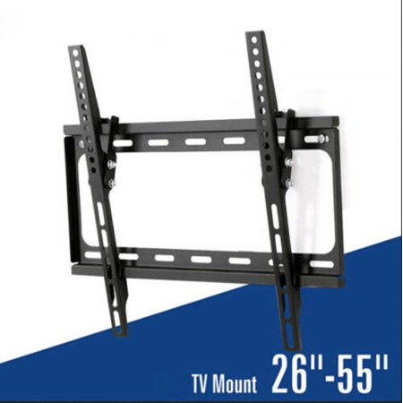 TV Wall Mounted Tilting Bracket, Estink Universal TV Bracket fits for 26 32 37 39 40 42 47 50 52 55