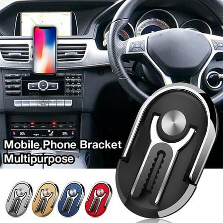 Car Navigation Air Outlet Mobile Phone Bracket 360 Rotating Car Phone Holder - image 6 of 7