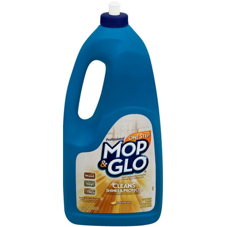 Mop & Glo Professional Multi-Surface Floor Cleaner, 64oz Bottle, Triple Action Shine (Gto Floor Pan)