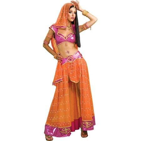 Women's Sexy Bollywood Dancer Costume - Harem Dancer Costume
