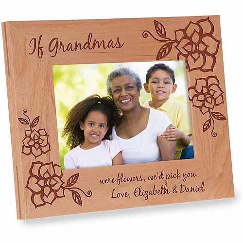 Personalized If Grandmas Were Flowers Frame, We Version