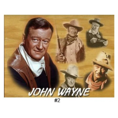 John Wayne Marion Mitchell Morrison Duke Edible Cake Topper