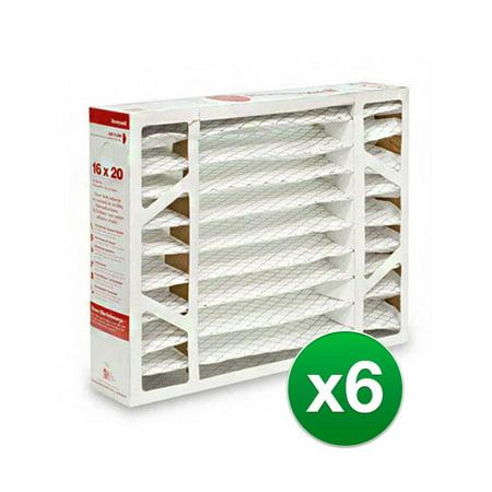 Replacement Honeywell 16x20x4 Air Filter MERV 11 6 Pack