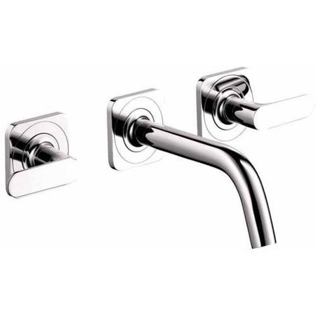 Hansgrohe Axor 34315821 Citterio M Bathroom Faucet Wall Mount Faucet with Lever Handles, Various Colors Axor Starck Two Handle